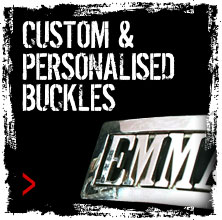 Custom & Personalised Buckles