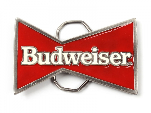 Budweiser Bow Belt Buckle