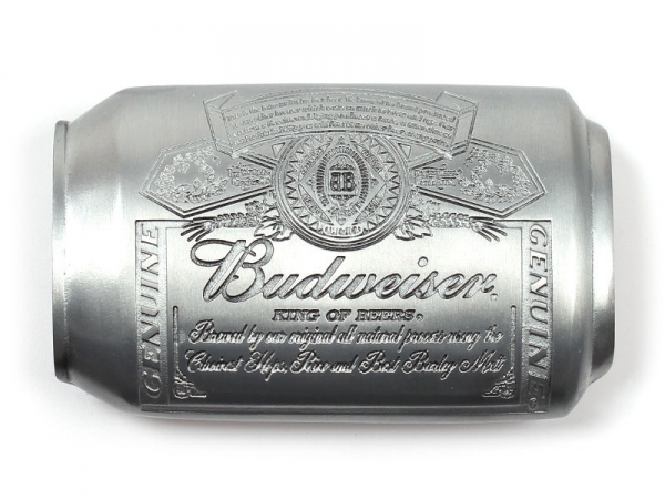 Budweiser Can Belt Buckle