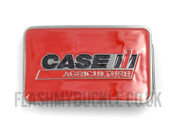 Case IH Red Belt Buckle