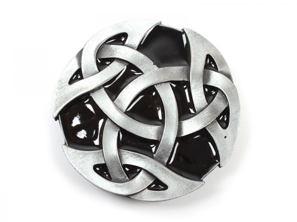 Celtic (Black) Belt Buckle