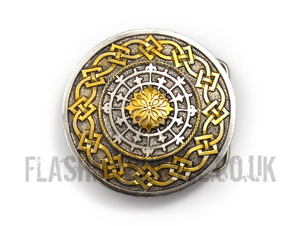 Celtic Shield Belt Buckle