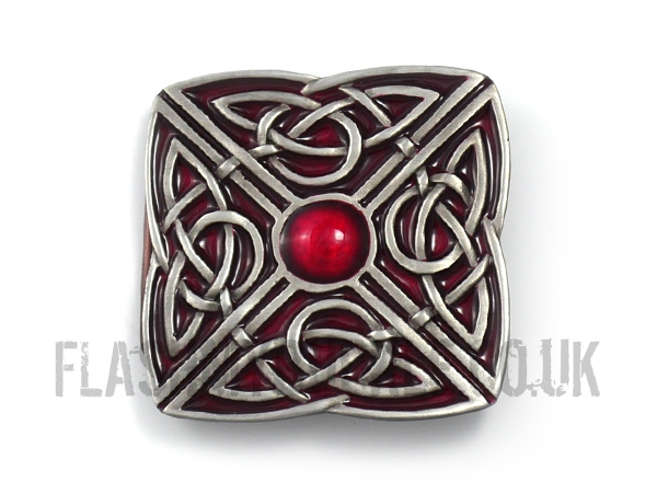 Celtic Square Belt Buckle