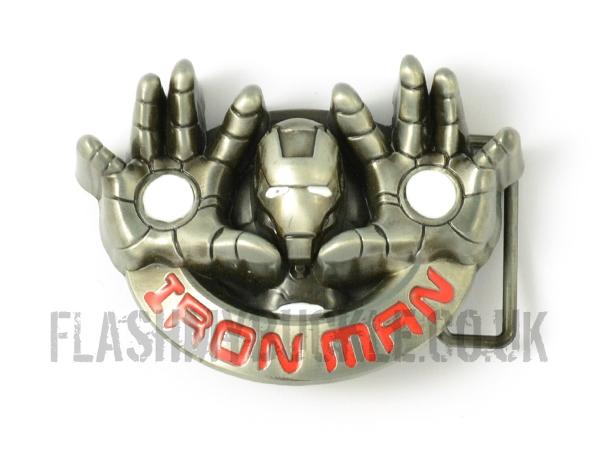 Iron Man Flight Belt Buckle