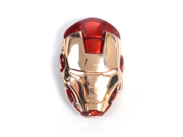 Iron Man Helmet Belt Buckle