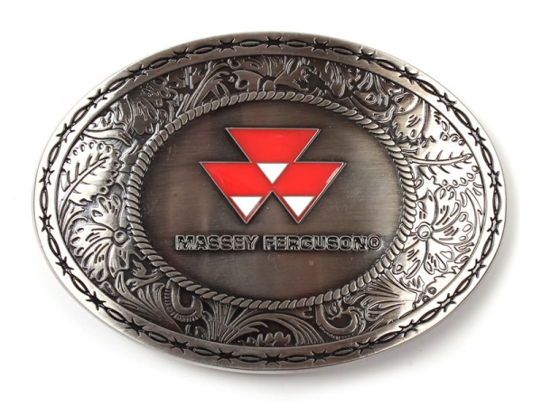Massey Ferguson (Oval) Belt Buckle