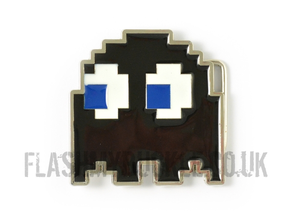 Pac Man Ghost (Spunky) Belt Buckle