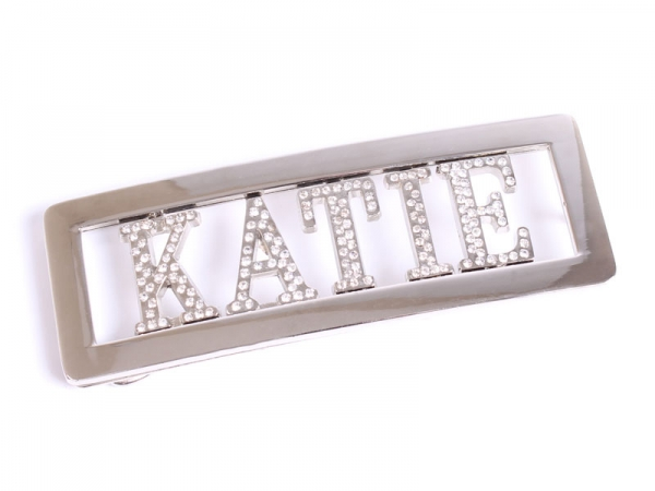 Personalised (Diamontes) Belt Buckle