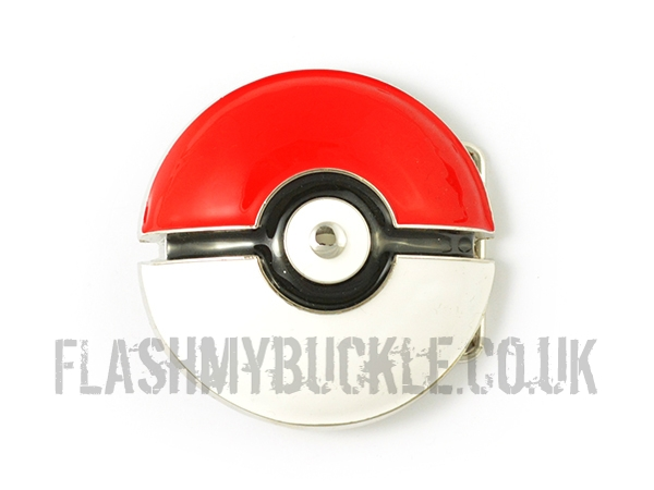 Pokémon Poké Ball Belt Buckle