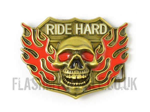 Ride Hard Belt Buckle