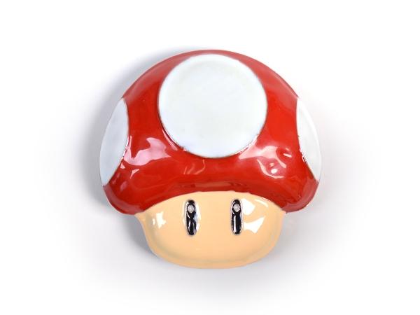 Super Mario Mushroom Belt Buckle
