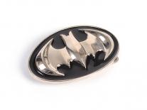 Batman Black & Chrome Shield Belt Buckle