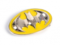 Batman Yellow & Chrome Shield Belt Buckle