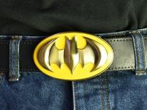 Batman Yellow & Gold Shield Belt Buckle