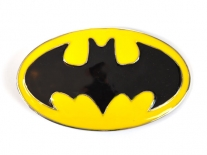 Batman Yellow & Black Shield Belt Buckle