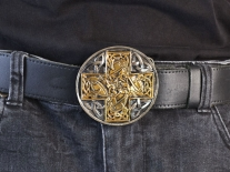 Celtic Cross Belt Buckle