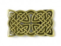 Celtic Cross Interweave (Bronze) Belt Buckle