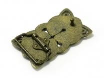 Celtic Cross Interweave (Bronze) Belt Buckle