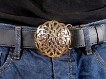 Celtic Interweave Belt Buckle