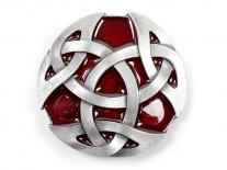 Celtic (Red) Belt Buckle