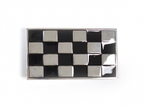 Chequered Flag Belt Buckle