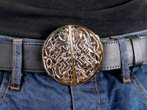 Celtic Circle Belt Buckle