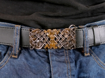 Celtic Rectangular Belt Buckle