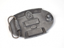 Great British Truck Driver Belt Buckle