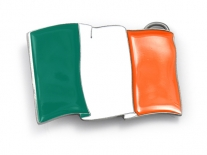 Irish Flag Belt Buckle