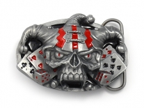 Jester Skull Belt Buckle