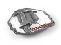 Lambretta Scooter Belt Buckle