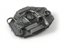Lambretta Scooter Belt Buckle