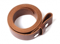 English Leather Belt Belt Buckle