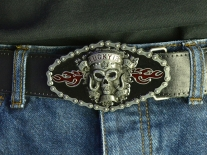 Lucky 13 - Born to Lose Belt Buckle