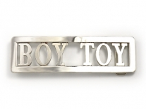 Madonna Boy Toy Chrome Belt Buckle