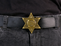 Sheriff Belt Buckle
