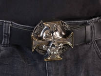 Skull & Cross Belt Buckle