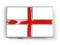 England Flag Belt Buckle