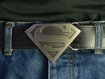 Superman (Bronze) Belt Buckle