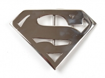 Superman (Chrome) Belt Buckle