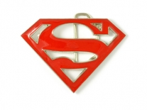 Superman (Red) Belt Buckle