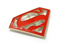 Superman (Red) Belt Buckle