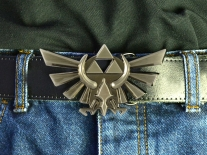 The Legend of Zelda Triforce Belt Buckle
