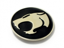Thundercats - Black & Silver Belt Buckle