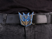 Transformers Decepticons Logo Belt Buckle