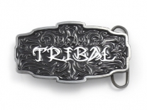 Tribal Tattoo Belt Buckle