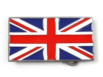 Union Jack Flag Belt Buckle