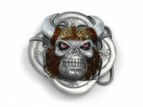 Viking Skull Belt Buckle