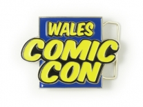 Wales Comic Con Belt Buckle