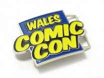 Wales Comic Con Belt Buckle